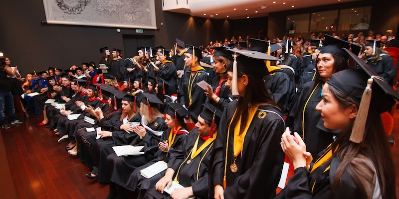 Commencement Ceremony, hosted at Cotsen Hall, American School of Classical Studies at Athens