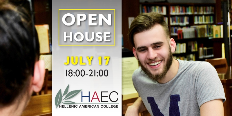 Open House at Hellenic American College